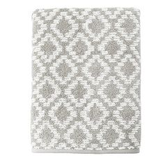 SONOMA Goods for Life™ Quick Drying Diamond Bath Towel