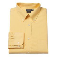 Mens Yellow Dress Shirts Tops, Clothing | Kohl's