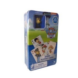 Paw Patrol Chase Figure & Jumbo Playing Cards Set by Cardinal