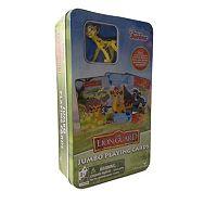Disney's The Lion Guard Jumbo Playing Cards & Fuli Figure Set by Cardinal