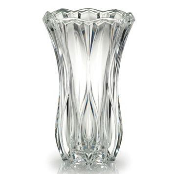 Mikasa Blossom Crystal Vase