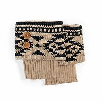 Women's MUK LUKS Fairisle Boot Toppers