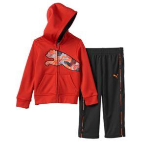 Baby Boy PUMA Fleece Jacket & Pants Set