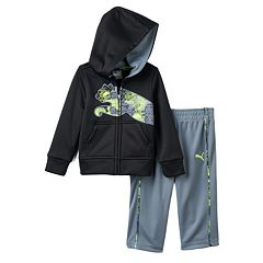 Baby Boy PUMA Fleece Jacket & Pants Set