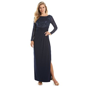 Women's Chaps Sequin Empire Evening Gown