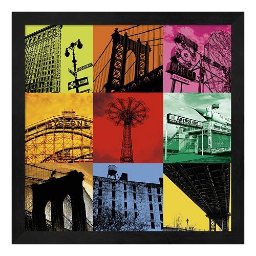 Metaverse Art New York Nine Framed Wall Art