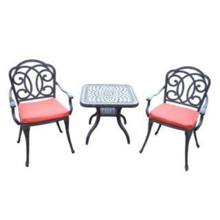 Berkeley Outdoor Cafe Table & Chair Set