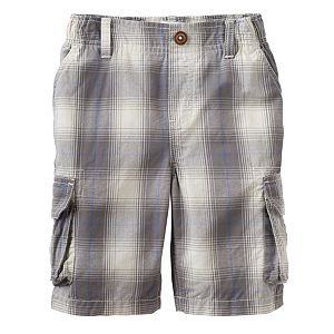 Boys 4-7x SONOMA Goods for Life™ Plaid Cargo Shorts