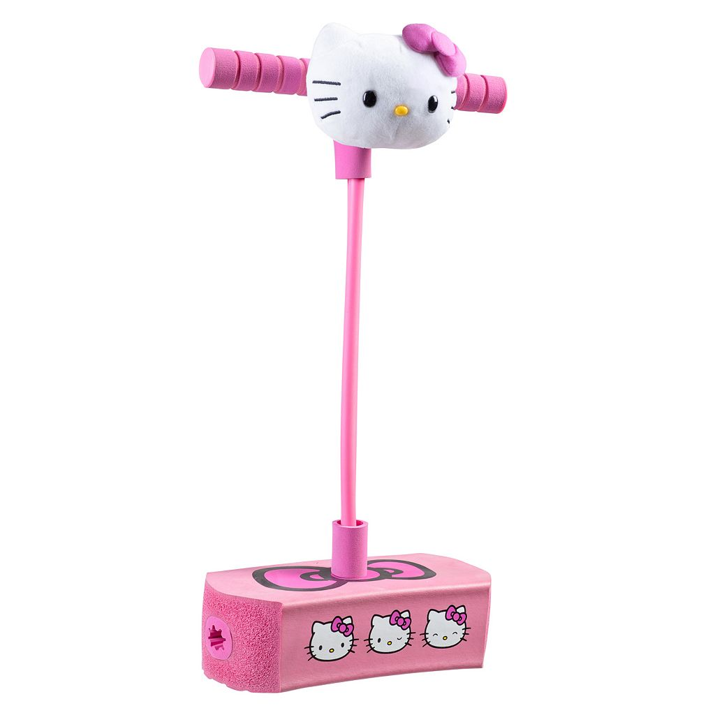 Hello Kitty Jump & Squeak Pogo Hopper Flybar