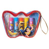 DC Comics DC Super Hero Girls Wonder Woman 5-pk. Lip Balm Cosmetic Bag