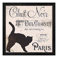 Metaverse Art Les Chats III Framed Wall Art