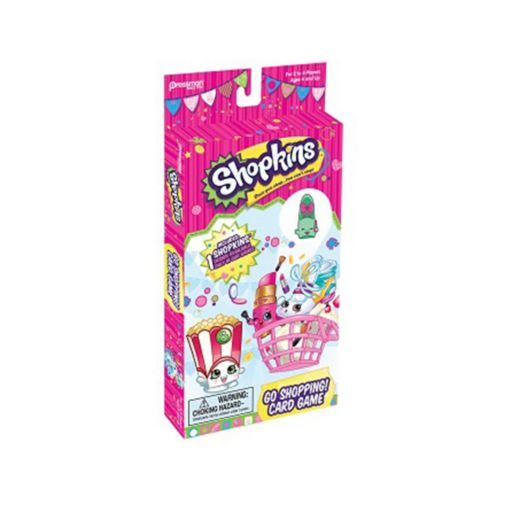 Shopkins Go Shopping Card Game