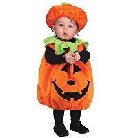 Baby Soft & Comfy Pumpkin Costume