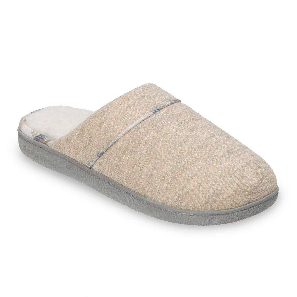 Dearfoams Women's Knit Scuff Slippers