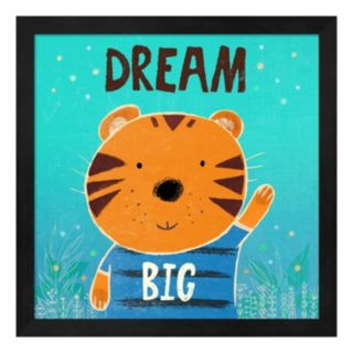 "Metaverse Art ""Dream Big"" Framed Wall Art"