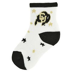 Baby Colorado Buffaloes Socks