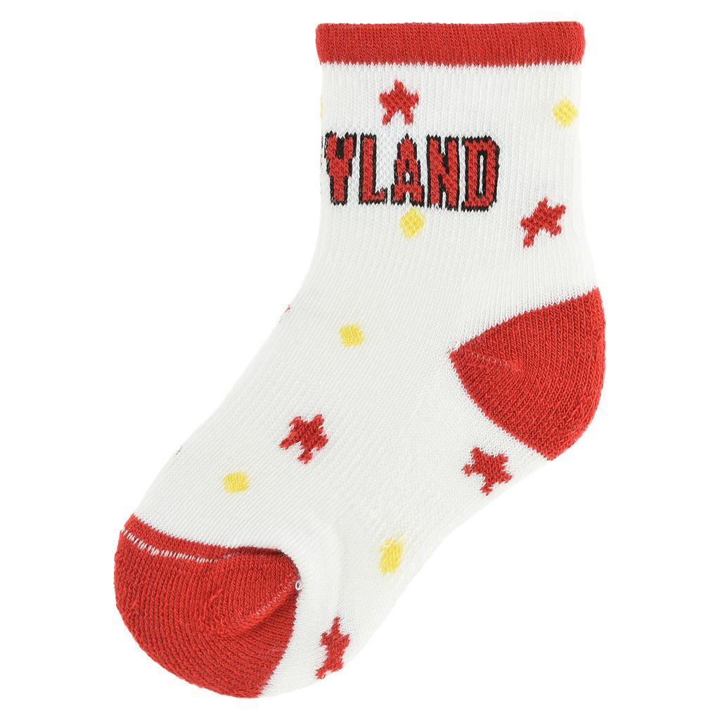 Baby Maryland Terrapins Socks