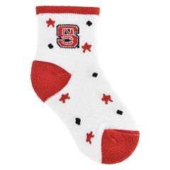 Baby Mojo North Carolina State Wolfpack 'I'm a Star' Cushioned Crew Socks