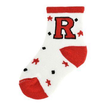 Baby Rutgers Scarlet Knights Socks