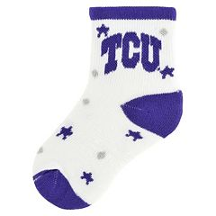 Baby TCU Horned Frogs Socks