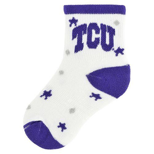 Baby TCU Horned Frogs Socks