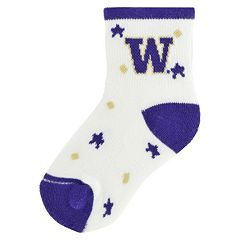 Baby Washington Huskies Socks