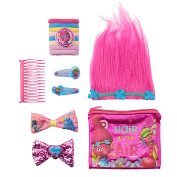 Girls 4-16 DreamWorks Trolls Poppy Hair Accessories Set