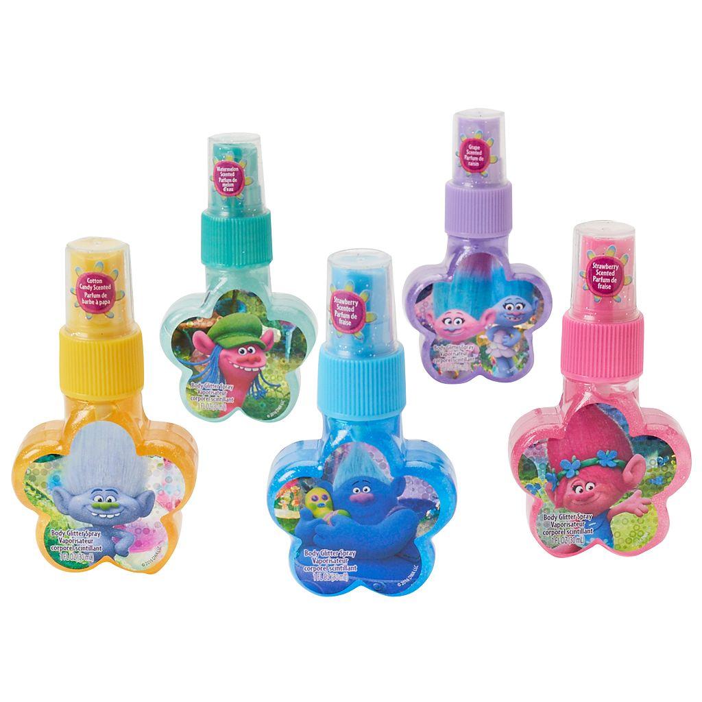 Girls 4-16 DreamWorks Trolls 5-pk. Scented Glitter Spray