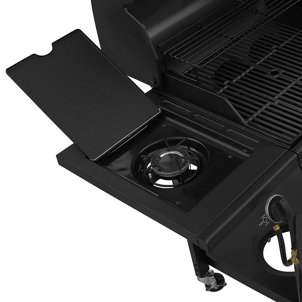 Char-Broil 3-Burner Gas & Charcoal Combination Grill