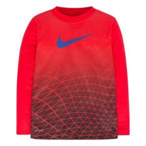 Boys 4-7 Nike Dri-FIT Sublimated Geometric Fade Tee
