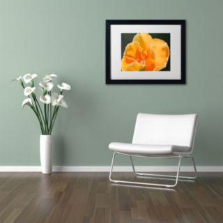 Trademark Fine Art Simple Compassion Framed Wall Art