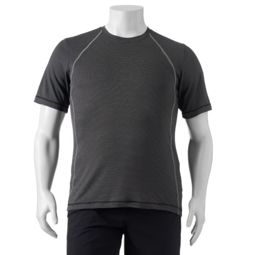 Big & Tall ASICS Striped Performance Tee