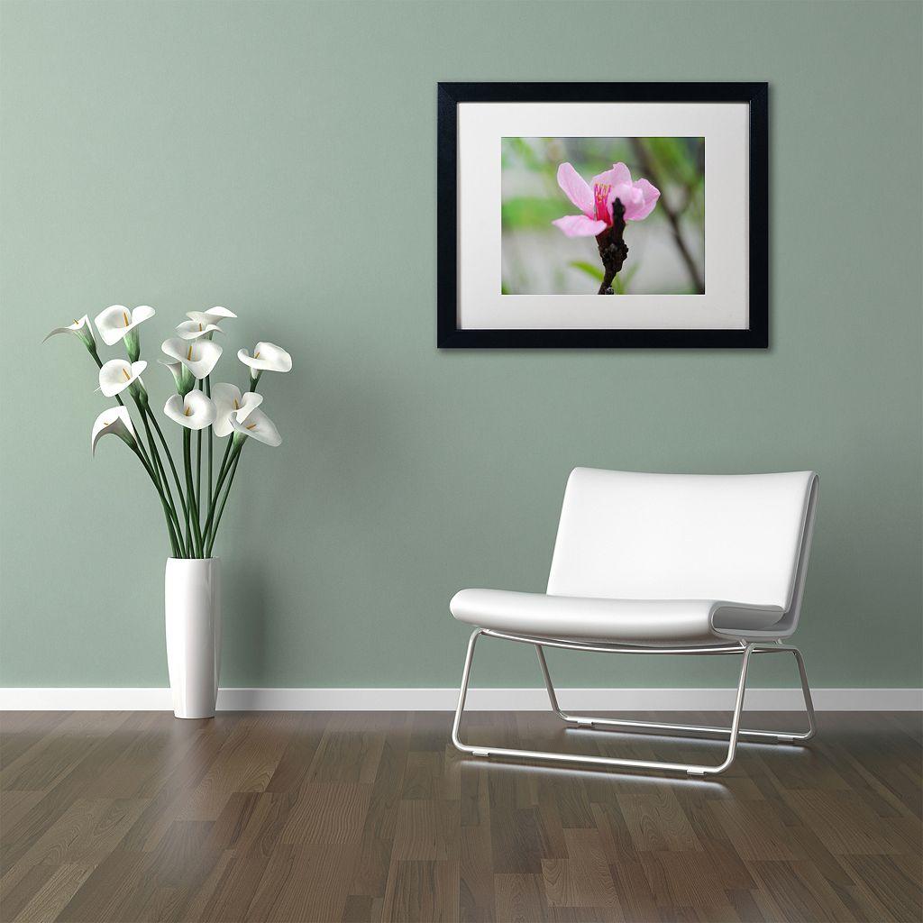 Trademark Fine Art Simplicity Framed Wall Art