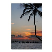 Trademark Fine Art Sinfully Warm Canvas Wall Art
