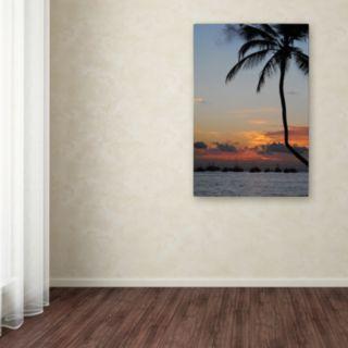 Trademark Fine Art Sinfully Warm Canvas Wall Art