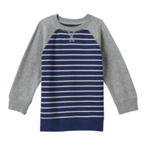 Baby Boy Jumping Beans® Striped French Terry Sweatshirt