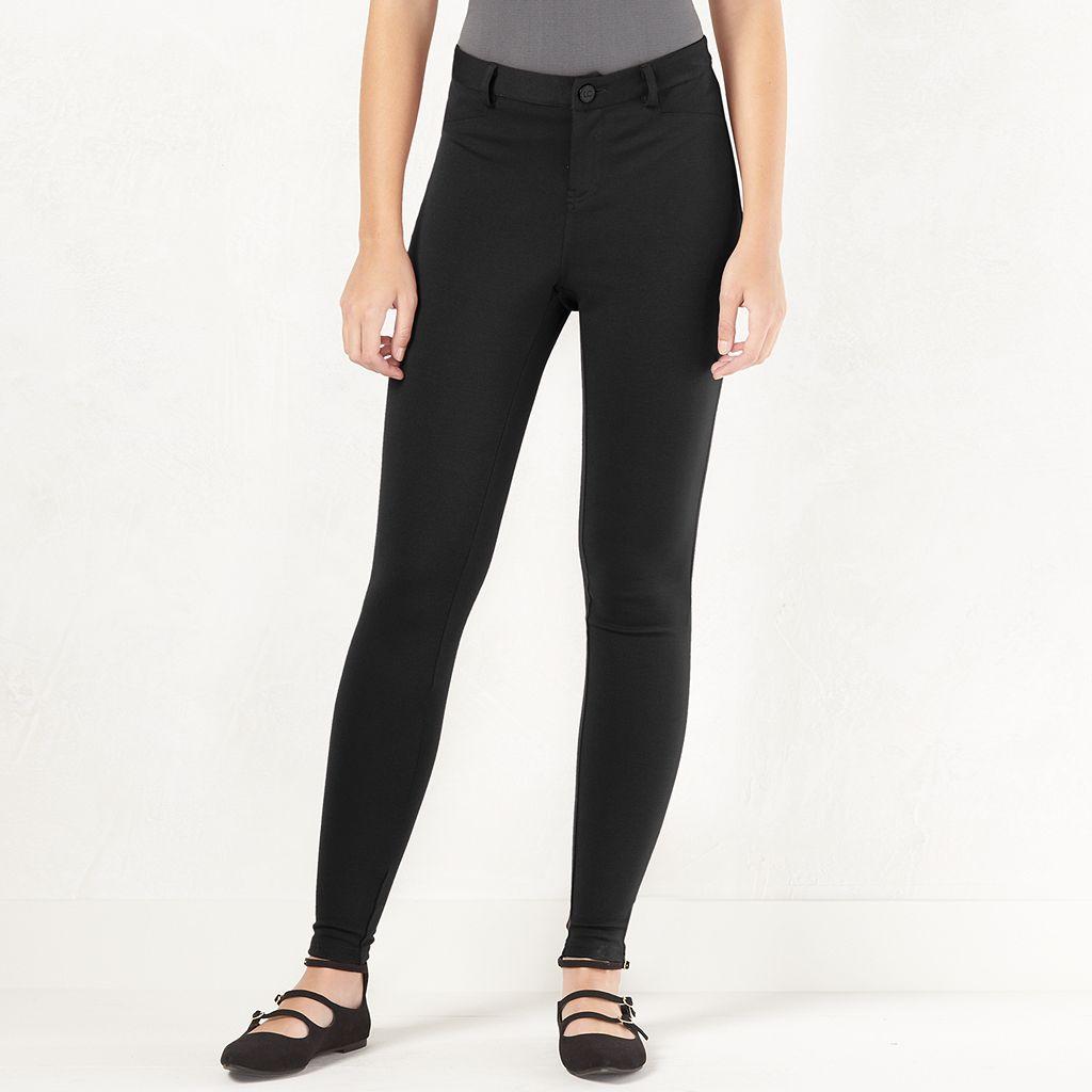 Women's LC Lauren Conrad Knit Skinny Pants