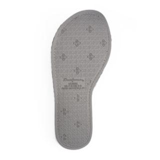 Dearfoams Women's Waffle Textured Twist Slide Slippers