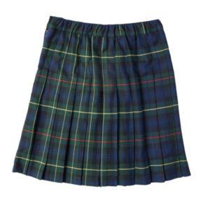 Girls 4-16 Chaps School Uniform Plaid Skirt