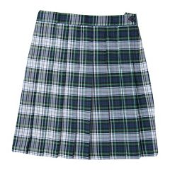 Girls 4-16 Chaps School Uniform Plaid Skirt