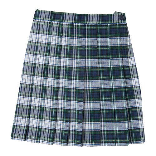 f85034e319f Girls 4-16 Chaps School Uniform Plaid Skirt