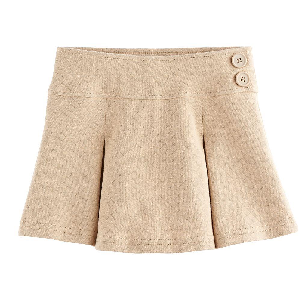 Girls 4-16 & Plus Size Chaps School Uniform Skort