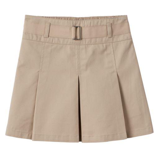 Girls 4-16 Chaps School Uniform Pleated Skort