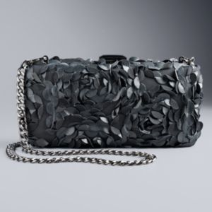 Simply Vera Vera Wang Floral Minaudiere Clutch
