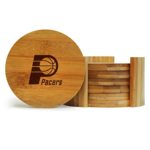Indiana Pacers 6-Piece Bamboo Coaster Set
