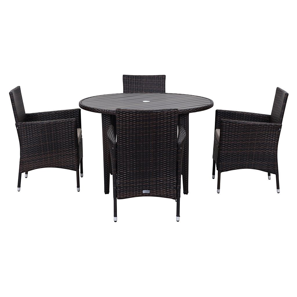 Safavieh Cooley Outdoor Table 5-piece Set