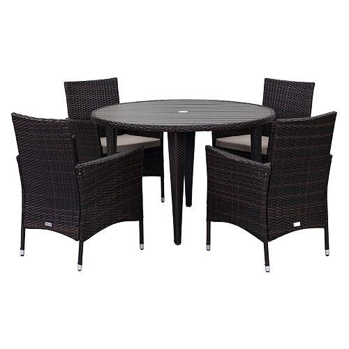 Safavieh Cooley Outdoor Table 5-piece Set