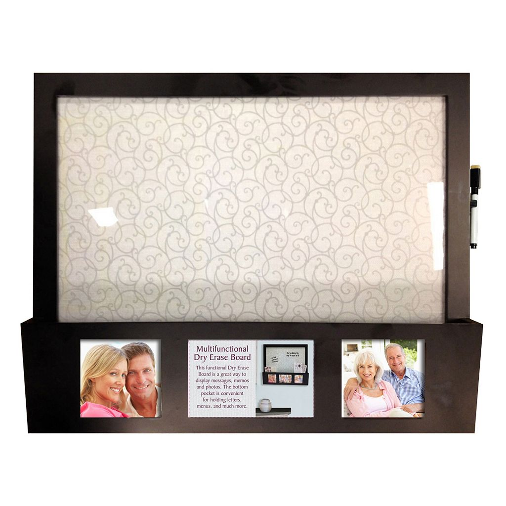 New View Dry Erase Board 2-Opening Photo Collage