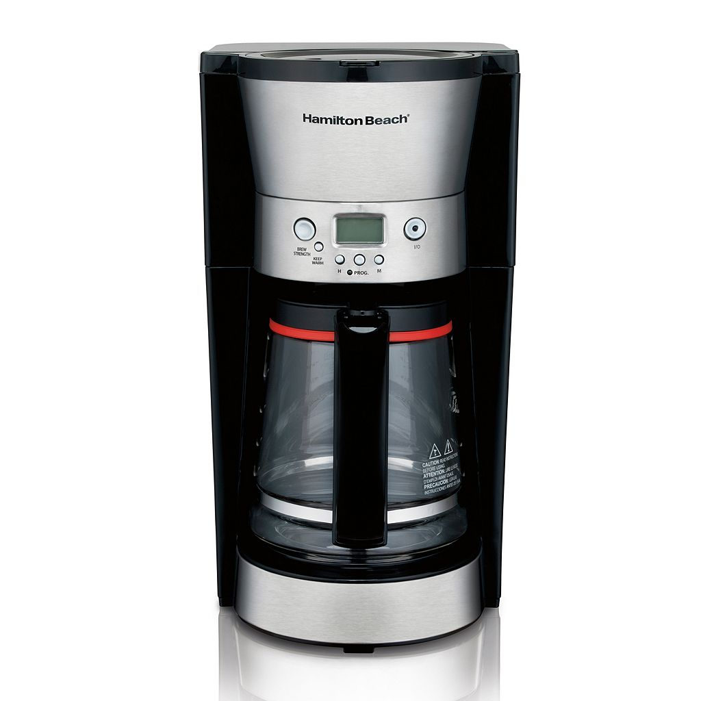 Hamilton Beach Euro-Style 12-Cup Programmable Coffee Maker