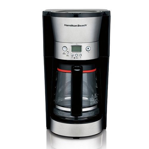 Hamilton Beach Euro-Style 12-Cup Programmable Coffee Maker